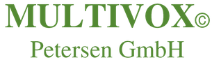 MULTIVOX® Petersen GmbH Gegensprechanlagen Logo